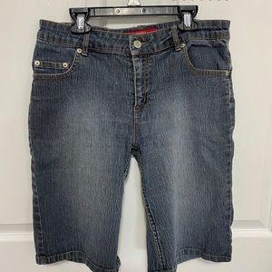 Women's knee high shorts
